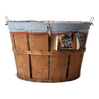 Vintage Roper Brothers Orchard Basket For Sale
