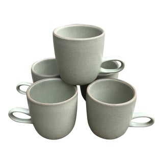 Heath Ceramics Coupe Studio Mug Cup Set of 5 For Sale