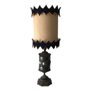 Antique Moroccan Style Lamp For Sale