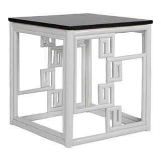 David Francis Santorini End Table For Sale