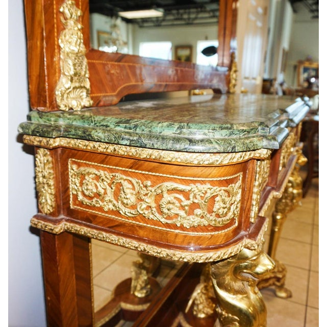 French Louis XVI-Style Sideboard - Image 7 of 8