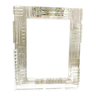 Modern Waterford Crystal Marquis Picture Frame For Sale