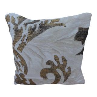 Custom Stenciled Velvet Lavender Sachet