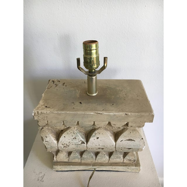 Architectural Salvage Style Column Table Lamp
