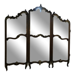 1880s Antique French Mirror For Sale