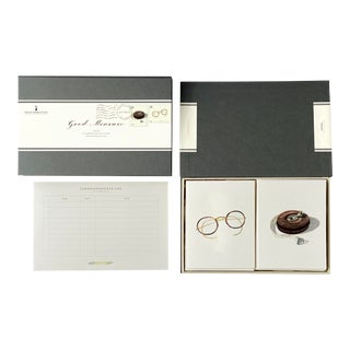 """Good Measure"" - Couplet Boxed Stationery - Folded Card Pair - Set of 10 For Sale"