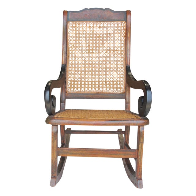 Antique Child's Rocking Chair - Image 1 of 8