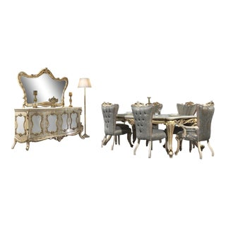 Bogazici Dining Table and Chairs For Sale