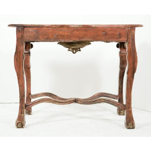 Baroque 18th Century Colonial Baroque Console For Sale - Image 3 of 11