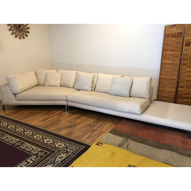 Fabric Minotti Hamilton Islands Sectional Sofa For Sale - Image 7 of 13
