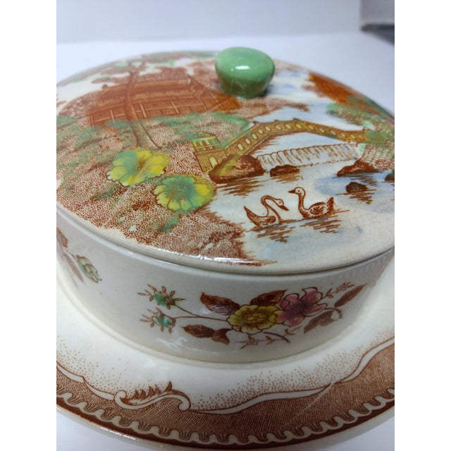European Porcelain Coffee Service Bowl For Sale - Image 4 of 13