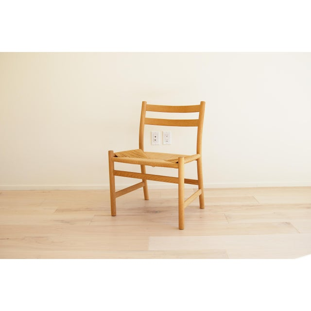 Oak 1965 Hans Wegner for Carl Hansen & Son Oak Dining Armchairs - Set of 6 For Sale - Image 7 of 13
