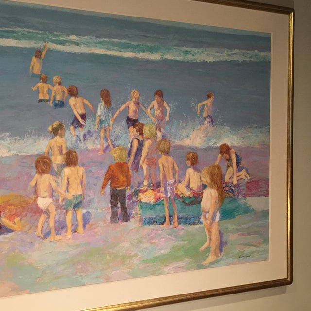 Day at the Beach Painting by Anton Sipos - Image 3 of 4