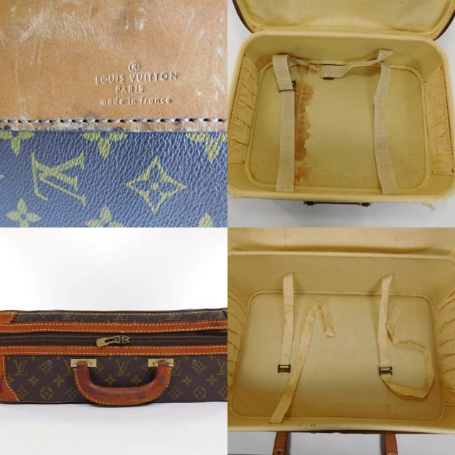Authentic Vintage Louis Vuitton Suitcases - A Pair - Image 7 of 10