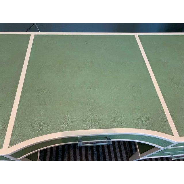 Green Transitional Lexington Home Sligh Partner Desk For Sale - Image 8 of 13