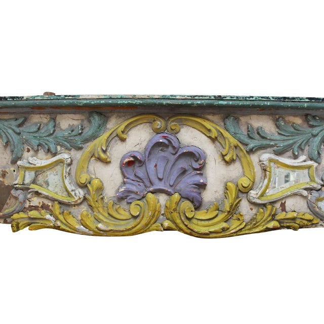Antique carousel panel from Paris, circa late 1800's - early 1900's. Local Pickup is available ONLY during normal business...