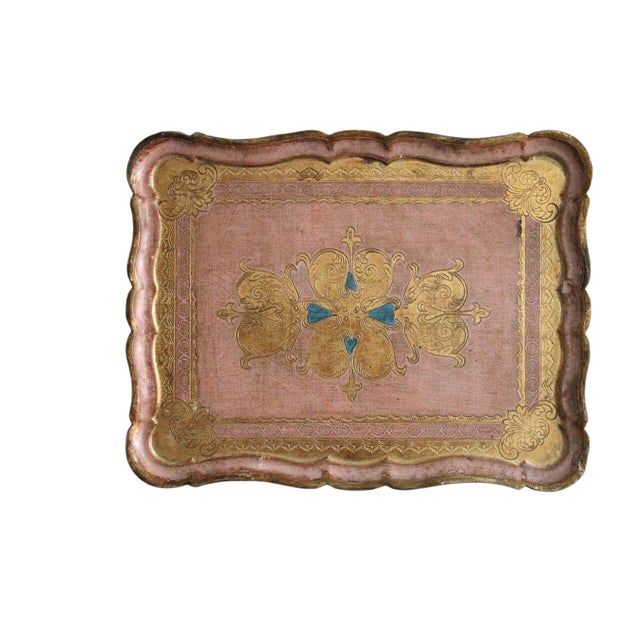 Italian Florentine Tray - Image 1 of 2