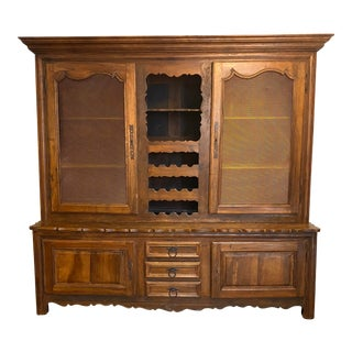 Antique French Country Hutch For Sale