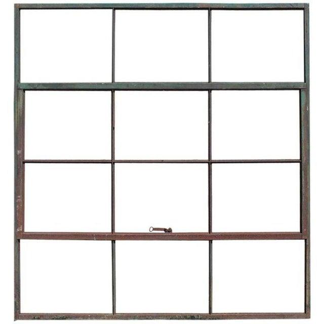 Dark Gray 21st Century Factory Casement Metal Window Frame For Sale - Image 8 of 8