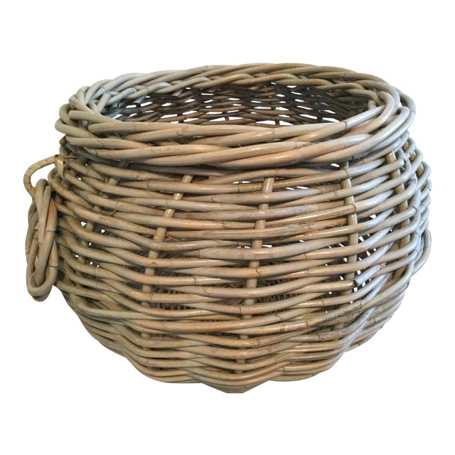 1990s Contemporary Decorative Basket For Sale