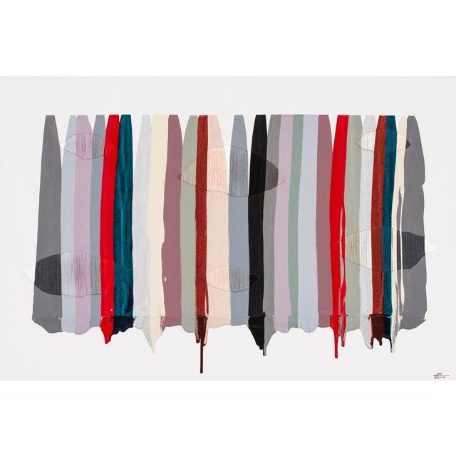 """Acrylic Paint Raul de la Torre, """"FILS I COLORS CCXLVI"""" For Sale - Image 7 of 7"""