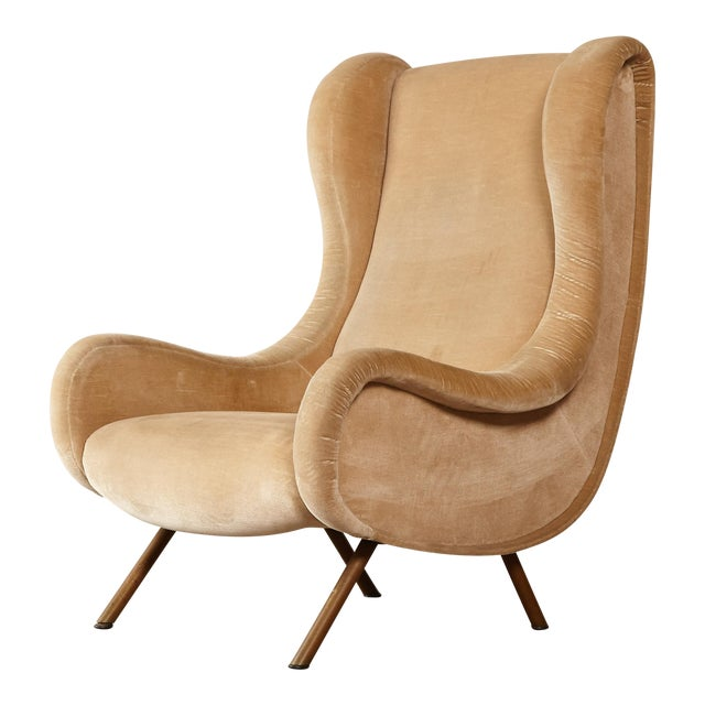 1960s Mid-Century Modern Marco Zanuso for Arflex Senior Chair For Sale