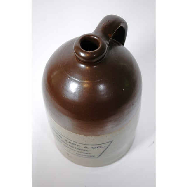 Louis Zapp & Co. Whiskey Jug For Sale - Image 4 of 4