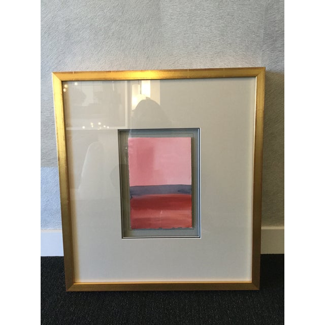 Framed Painting 'Contemplative Spaces V' - Image 2 of 3
