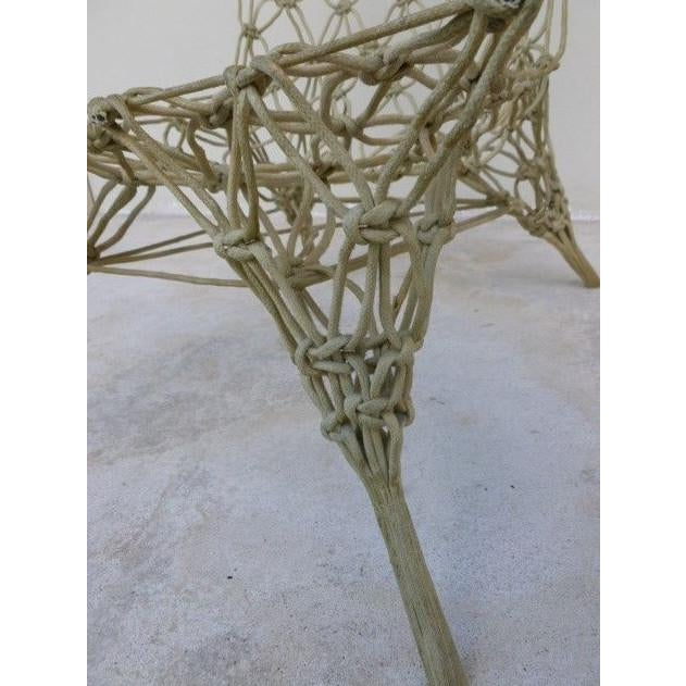 Textile 1990s Vintage Marcel Wanders for Droog Design Knotted Chair For Sale - Image 7 of 13