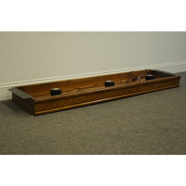 "Traditional Traditional Drexel Heritage Accolade Collection Pier Group 63"" Light Bridge For Sale - Image 3 of 9"