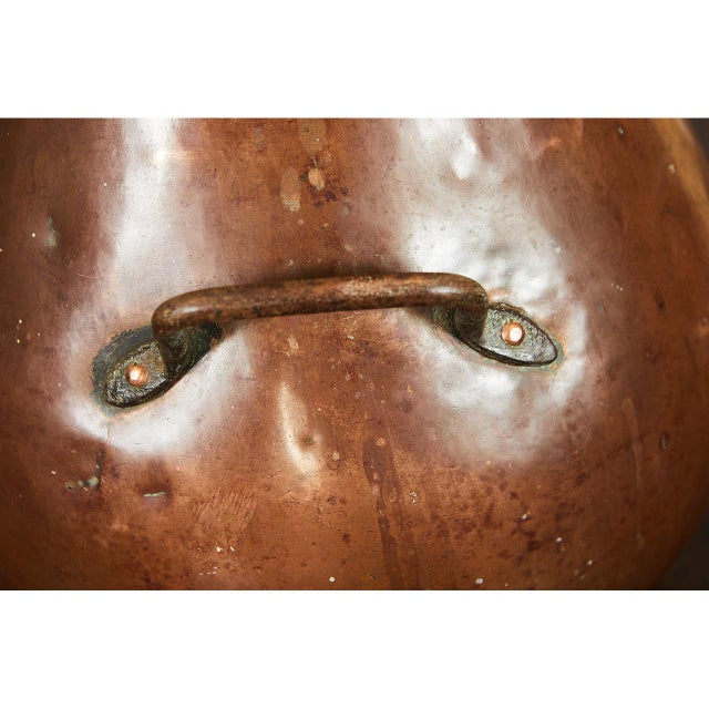 Country Hammered Copper Dutch Samovar For Sale - Image 3 of 7