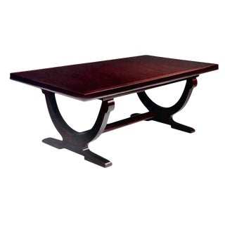 Barbara Barry for Baker Mahogany Transitional Dining Table For Sale