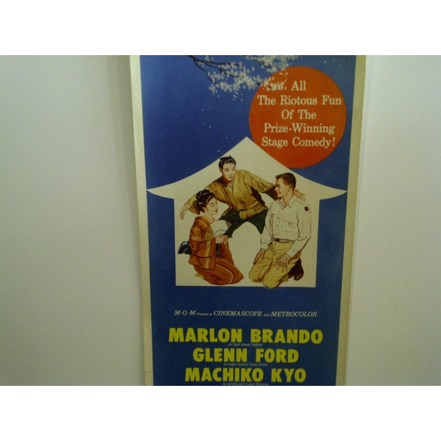 "Vintage ""The Teahouse of the August Moon"" Movie Poster For Sale - Image 5 of 6"