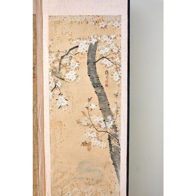 Japanese Korean Six-Panel Screen of Legendary Chinese Figures For Sale - Image 3 of 13