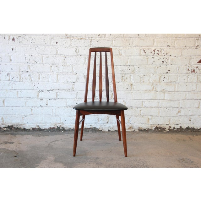 Niels Koefoed for Koefoeds Hornslet Eva Rosewood Dining Chairs- Set of 6 - Image 9 of 11