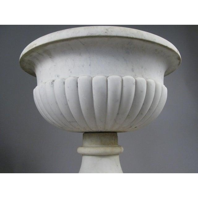 Italian Antique Italian Marble Urn For Sale - Image 3 of 9