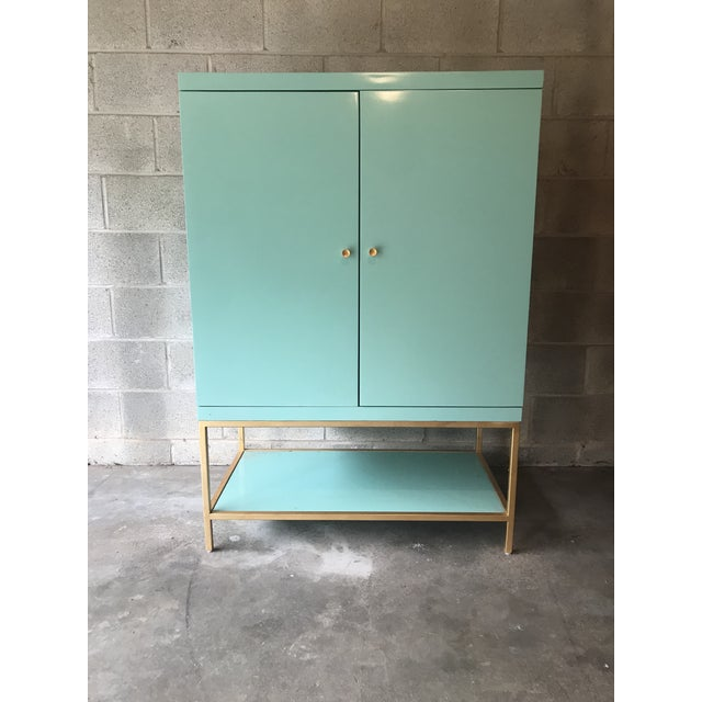 Mid Century Modern Lacquered Storage Cabinet For Sale - Image 13 of 13