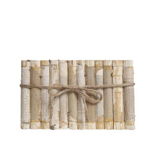 Antique Book Gift Set: Paper & String Waverly Novels, S/12