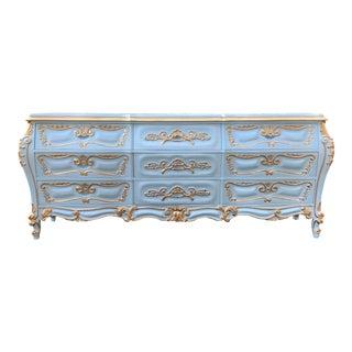 1970's Cellini Furniture Louis XV Style Dresser For Sale