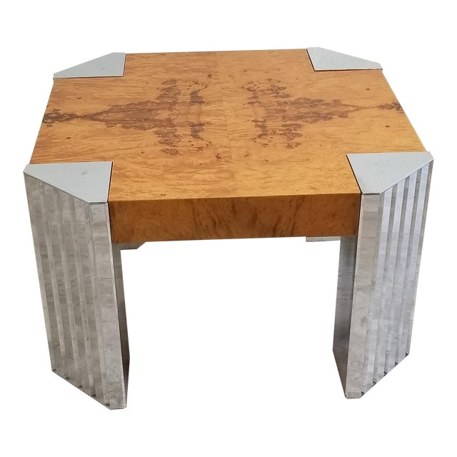 Burl Wood Coffee Table For Sale