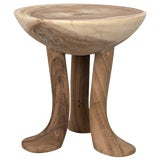 Image of Duck Stool, Munggur Wood For Sale