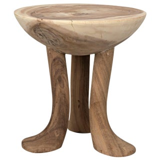 Duck Stool, Munggur Wood