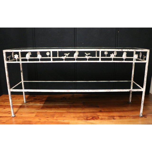 Diego Giacometti Style Console Table - Image 2 of 6