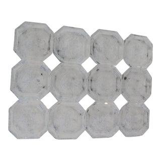 Vintage Mid-Century Crystal Salts - Set of 12 For Sale