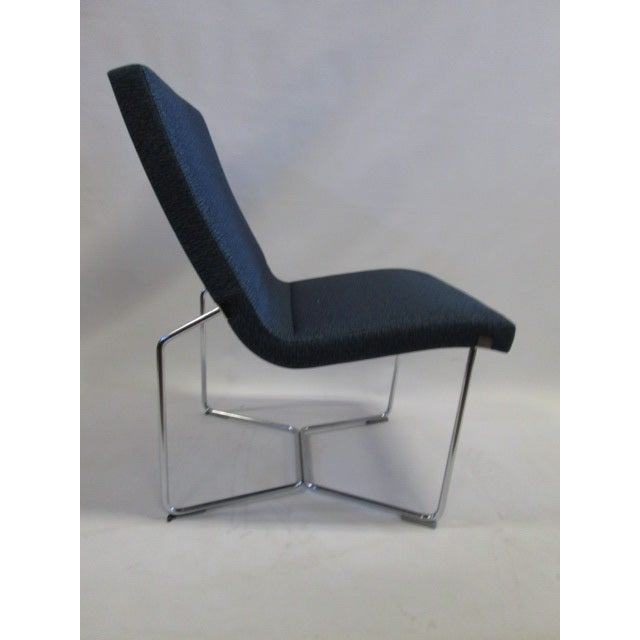 Contemporary Harter Forum Seat Lounge Chairs - A Pair For Sale - Image 3 of 7