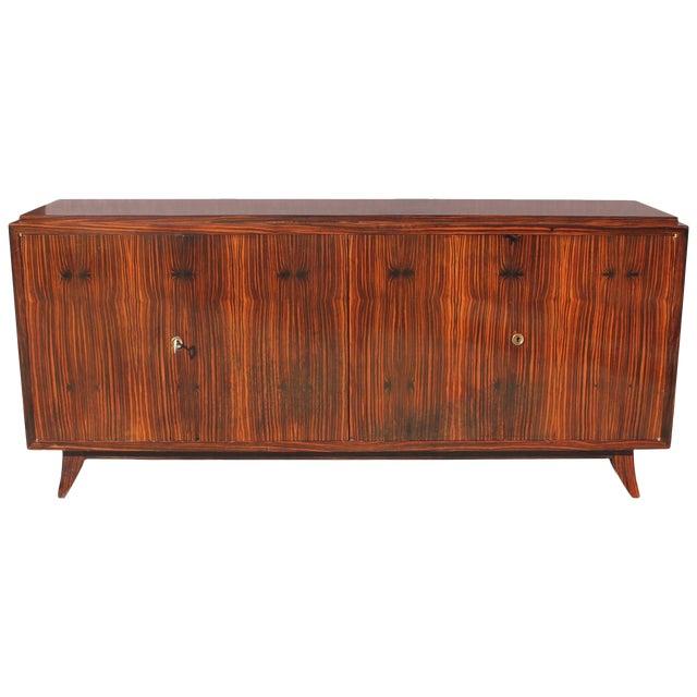 Beautiful French Art Deco Macassar Ebony Sideboard / Buffet Circa 1940s, - Image 1 of 10