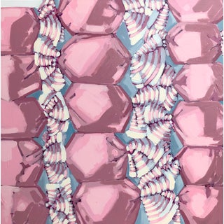 Pink Stacks No. 2 by Nicole Newsted For Sale
