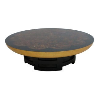 Kittinger Lotus Coffee Table by Theodore Muller and Isabel Barringer For Sale