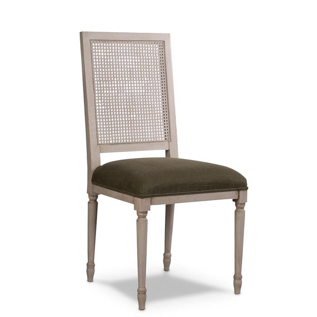 Sarreid Ltd Adams Cane Back Beechwood Dining Chairs- A Pair - Image 2 of 6