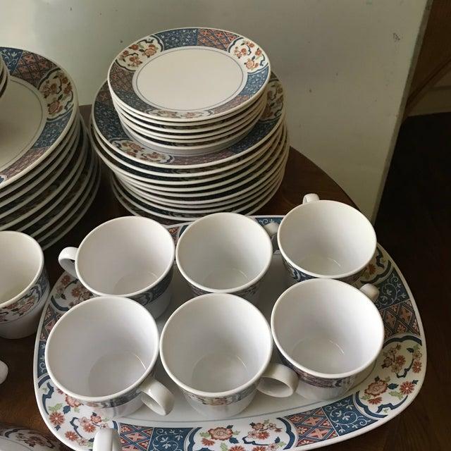 Vintage Noritake Progression Ming Garden Dinnerware - 54 Piece Set,reduced Final For Sale In Birmingham - Image 6 of 11